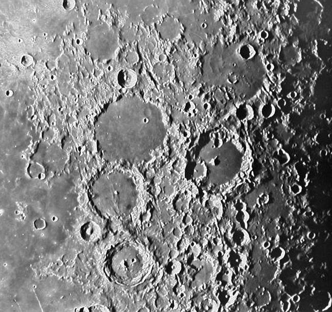 Лунные кратеры. Альтернативный прототип