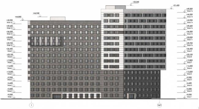 Общественное здание на ул. Бутлерова © А-Проект.к. Предоставлено пресс-службой «Москомархитектуры»