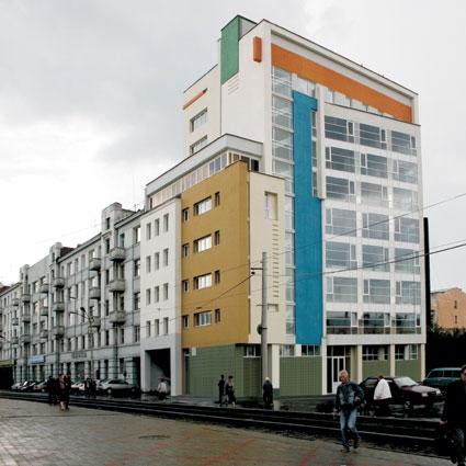 Инженерно-лабораторный корпус по улице Канавинская © Творческая мастерская архитектора Быкова