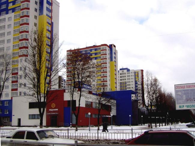 «Молодёжный» – квартал многоэтажных домов © Творческая мастерская архитектора Быкова