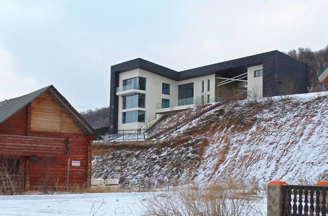 Дом «Сланец» © Архитектурное бюро С. Горшунова