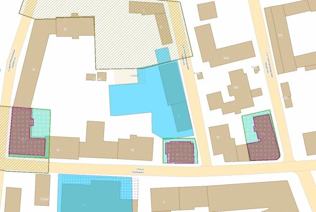 Жилой дом в Хамовниках. План © Цимайло, Ляшенко и Партнеры. Предоставлено пресс-службой «Москомархитектуры»