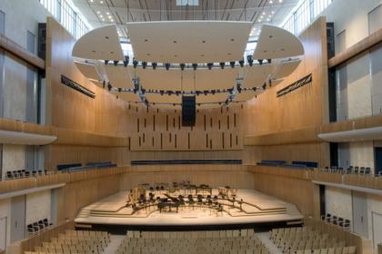 Центр исполнительских искусств Холланда. Главный зал