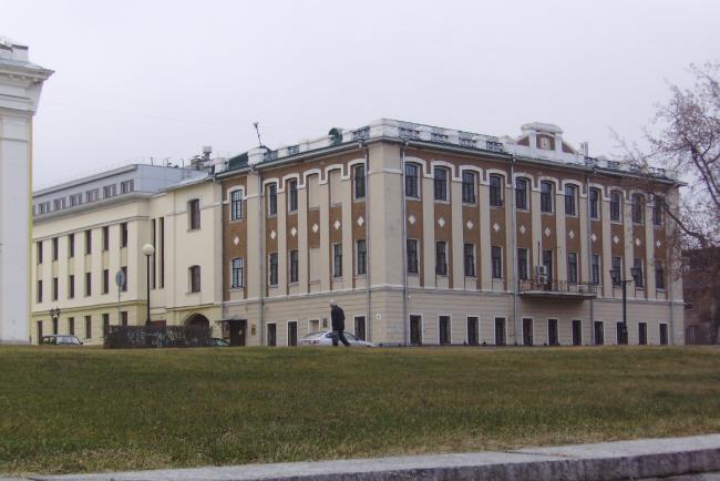 Управление федерального казначейства по Нижегородской области © НижегородгражданНИИпроект