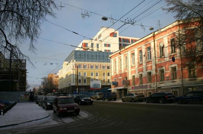 Административное здание с подземной автостоянкой по ул. Большая Печёрская © ПТМА Тимофеева С.А.