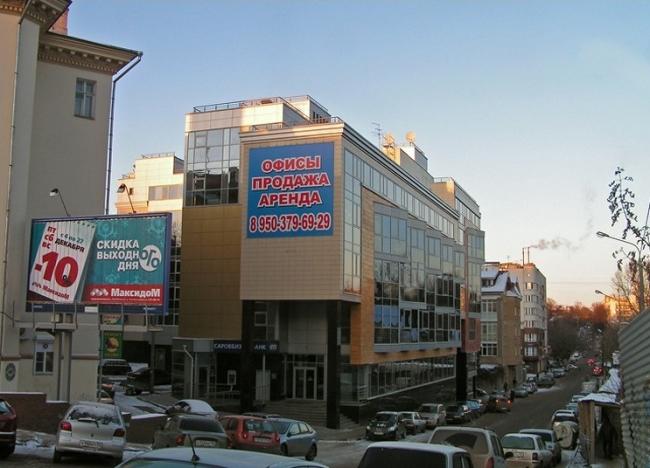 Многофункциональный комплекс на ул. Семашко © Творческая мастерская архитектора Быкова