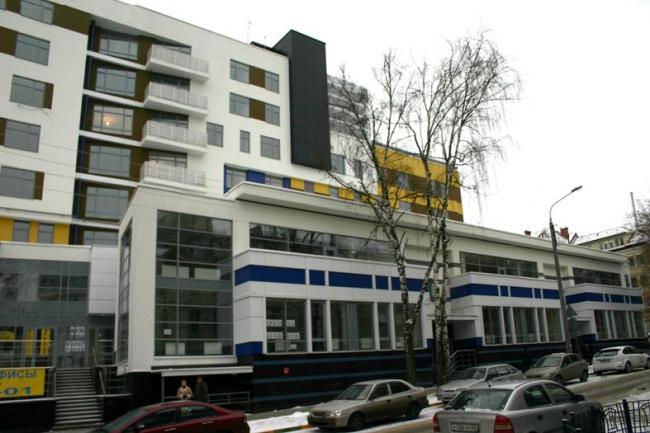Жилой дом с офисными помещениями ул. Володарского © Интерстиль