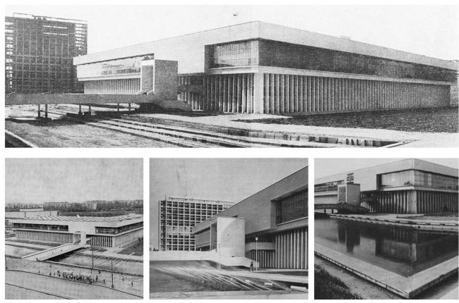 Библиотека ИНИОН РАН на Нахимовском проспекте. Архивные фотографии предоставлены МКА