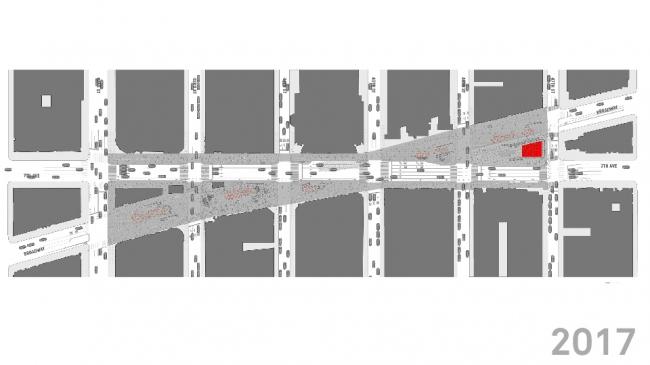 Таймс-сквер. Пешеходное пространство после реконструкции © Snøhetta