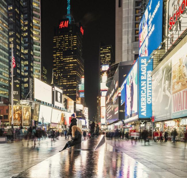 Таймс-сквер – реконструкция © Michael Grimm