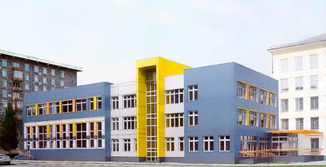 Пристрой к гимназии №1514 © Терра Аури. Предоставлено пресс-службой «Москомархитектуры»