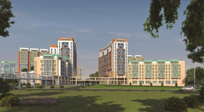 Жилой комплекс в Барышах © ЦНИИЭП жилища. Предоставлено пресс-службой «Москомархитектуры»