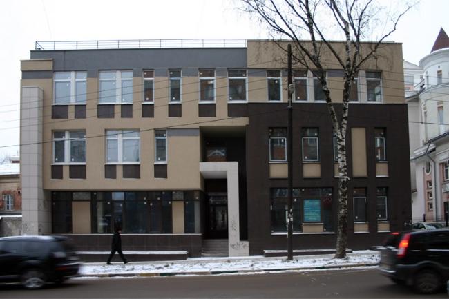 Офисное здание на Ошарской © Интерстиль