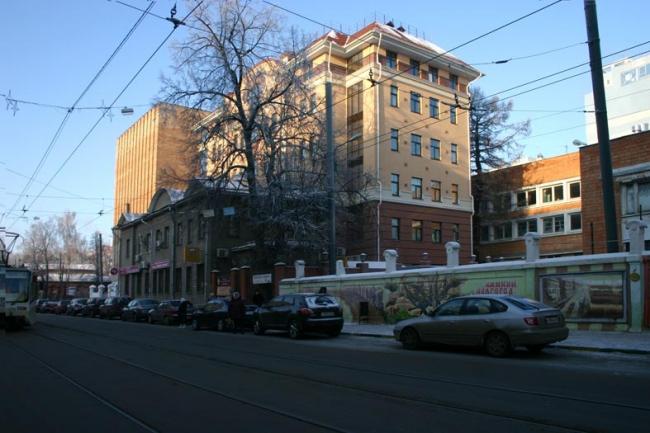Офисное здание на ул. Большая Печёрская © Аркадий Глебов
