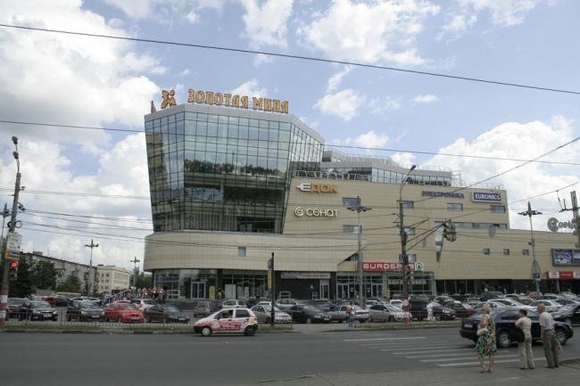 Торгово-развлекательный центр «Золотая миля». Заказчик: ООО «Сеть фирменных магазинов «Электроника»