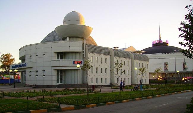 Нижегородский Планетарий. Фото: Алексей Белобородов via Wikimedia Commons. Лицензия  CC BY-SA 3.0