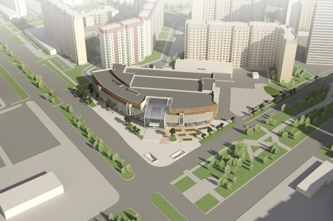 Реконструкция ТРЦ «Ладья» © ТМА Кожушаного. Предоставлено пресс-службой «Москомархитектуры»