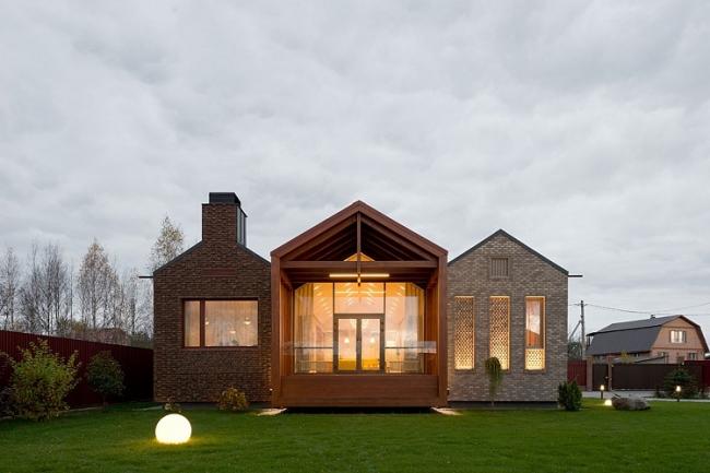 Частный жилой дом в Шатуре © Le Atelier