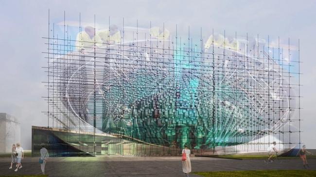 Павильон атомной энергии «РЕАКТОР» на ВДНХ © Archstruktura