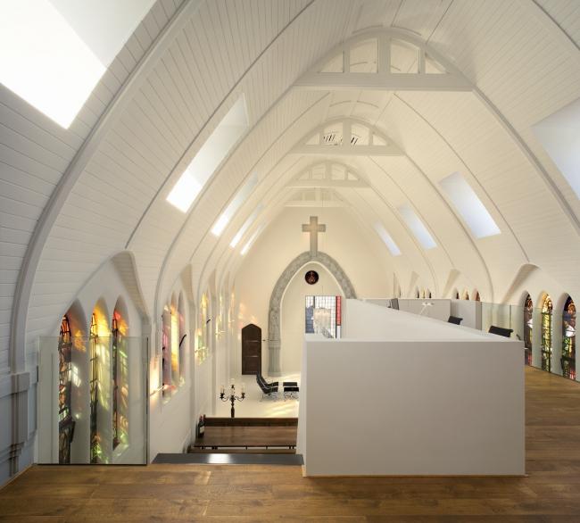 Дом Chapel of Living © Cornbread Works