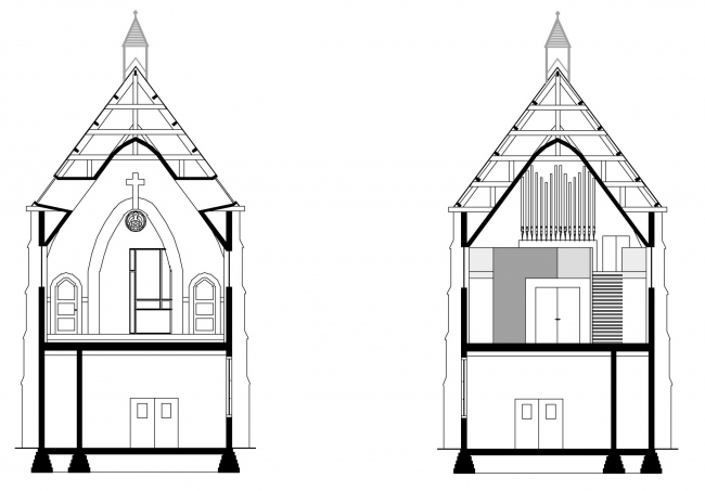 Дом Chapel of Living © Zecc Architecten BNA