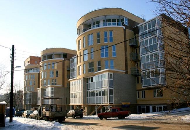 Жилой дом на ул. Фрунзе © Творческая мастерская архитектора Валерия Никишина
