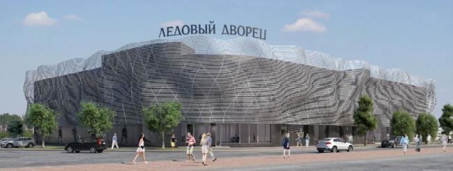 Ледовый дворец в Солнцево © ООО «Тектон». Предоставлено пресс-службой «Москомархитектуры»