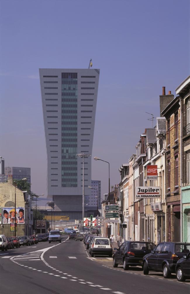 Башня Tour de Lille © Atelier Christian de Portzamparc