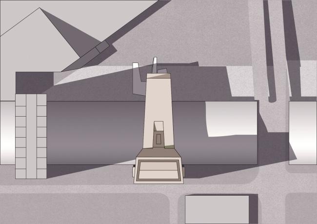 Башня Tour de Lille. План © Atelier Christian de Portzamparc