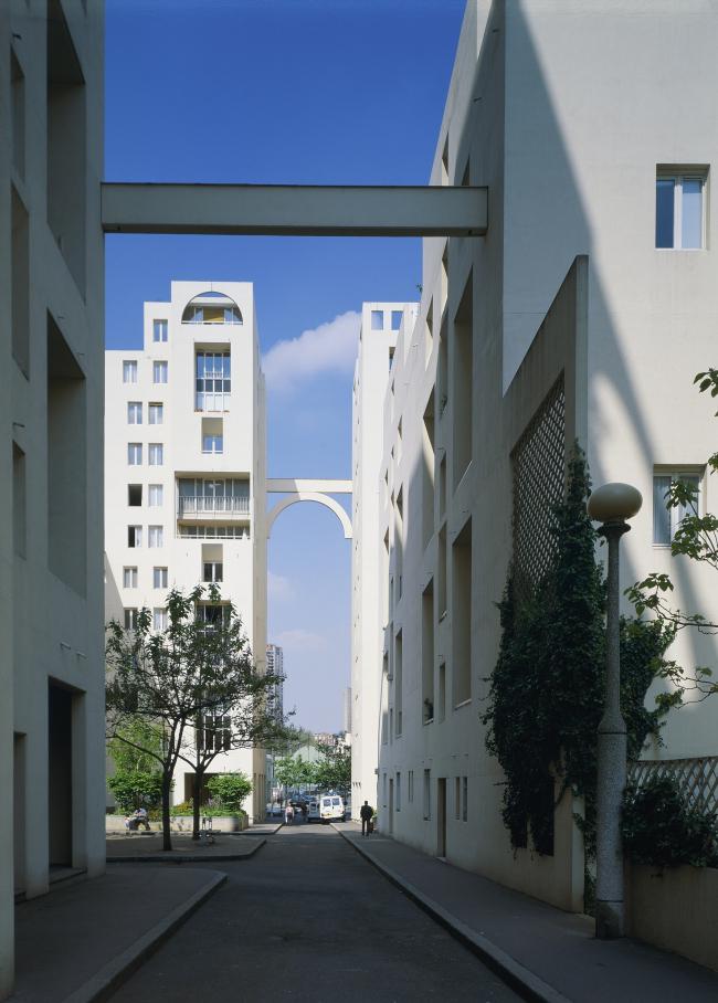 Застройка улицы От-Форм в Париже © Nicolas Borel