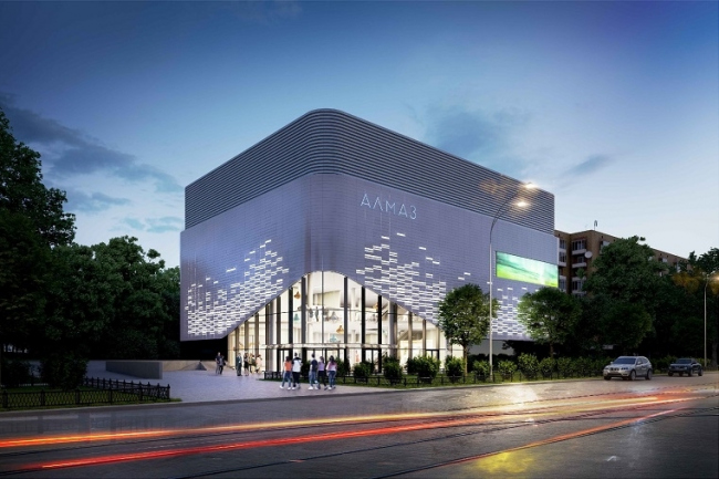 Реконструкция кинотеатра «Алмаз» © Bulwark. Предоставлено пресс-службой «Москомархитектуры»