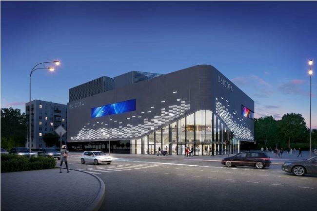 Реконструкция кинотеатра «Высота» © Bulwark. Предоставлено пресс-службой «Москомархитектуры»