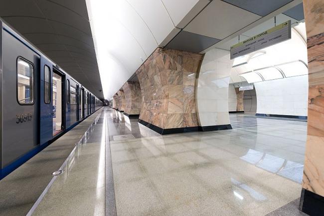 Станция метро «Бутырская». Фото:mos.ru via Wikimedia Commons. Лицензия  CC BY-SA 3.0
