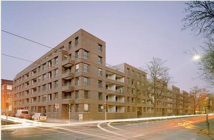 Жилой дом Voltastrasse, Франкфурт
