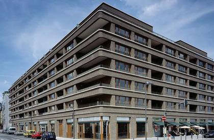 Жилой дом Westgarten, Франкфурт