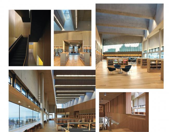 Инновационный культурный центр в Калуге. Стилистическое направление решений интерьера  © WOWHAUS