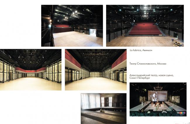 Инновационный культурный центр в Калуге. Аналоги универсальных залов  © WOWHAUS