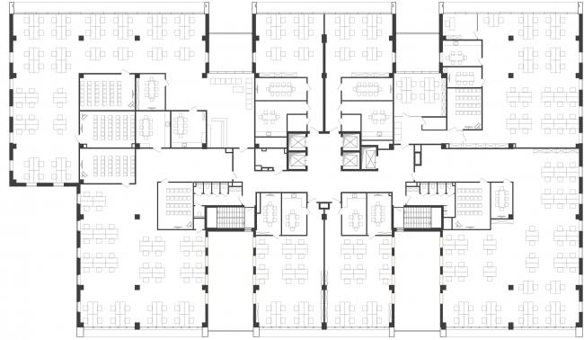 """""""Optima-Plaza"""" office complex © Archimatika"""