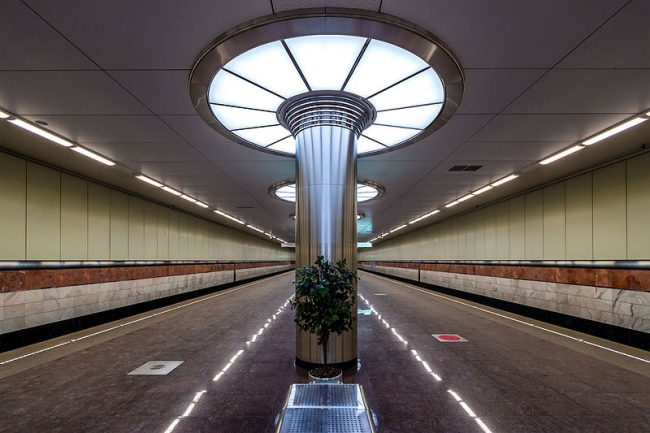 Станция метро «Котельники». Фото: Alex ′Florstein′ Fedorov via Wikimedia Commons. Лицензия CC BY-SA 4.0