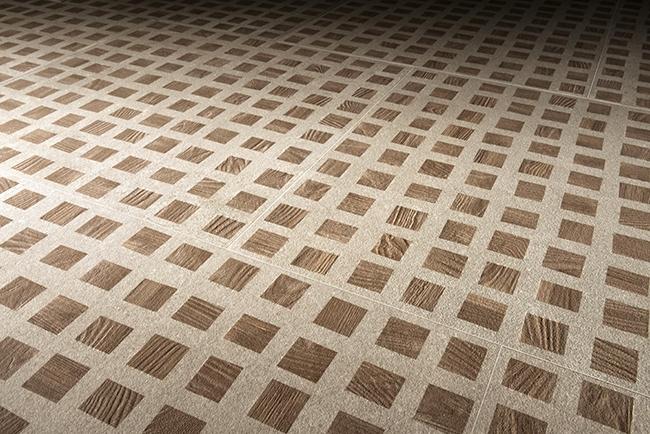Керамогранит от компании «ЛУЧИДО Бутик Итальянской Плитки». Декор Pearl Gray Quad Nat Ret, формат 30×60 см (продается в кв.м). ©LUCIDO