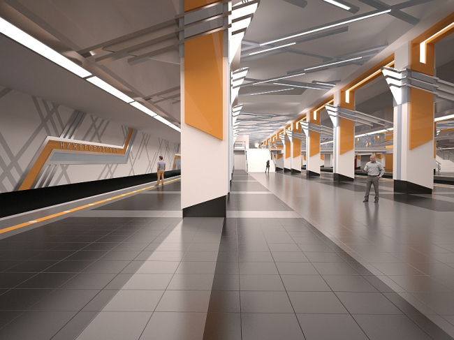 Станция метро «Нижегородская» © АО «Мосинжпроект»