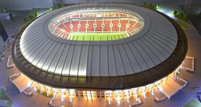 Реконструкция центральной арены ЧМ-2018 «Лужники». Фотография предоставлена компанией Rockwool