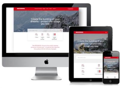Новый сайт ROCKWOOL: еще более удобный, стильный и информативный. Изображение предоставлено компанией Rockwool