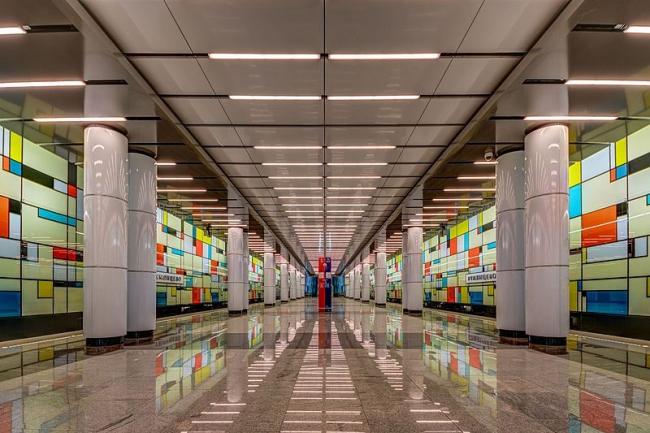 Станция метро «Румянцево». Фото: A.Savin via Wikimedia  Commons. Фото находится в общем доступе
