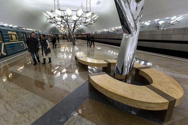 Станция метро «Тропарёво». Фото: Antares 610 via Wikimedia Commons. Фото находится в общем доступе