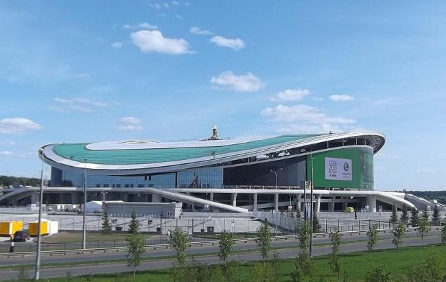 Стадион «Казань-Арена». Фото: Kazaneer via Wikimedia Commons. Лицензия CC BY-SA 3.0