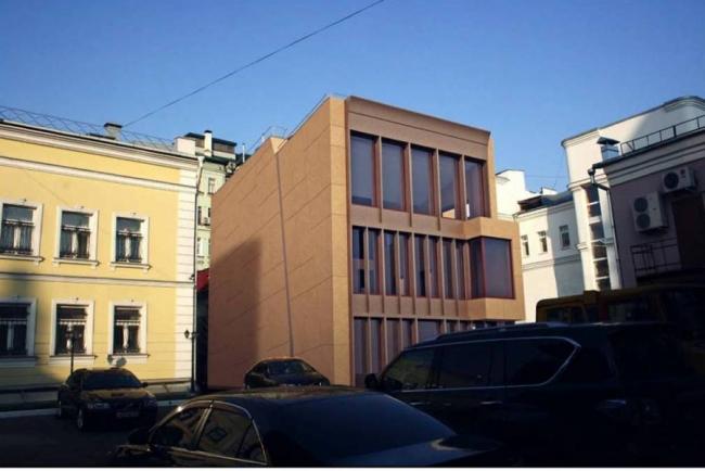 Мастерская З.К. Церетели. Проект, 2014 © Мезонпроект