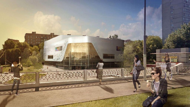 Реконструкция кинотеатра «Орбита»© ООО «Хоумленд Архитектура». Предоставлено пресс-службой «Москомархитектуры»