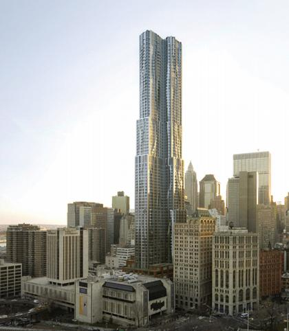 Башня New York by Gehry