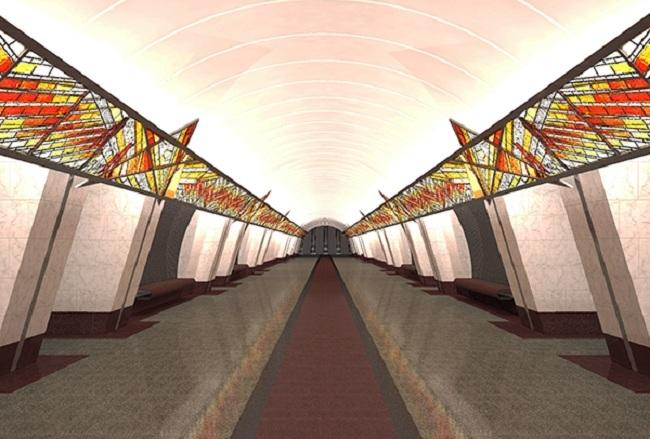 Станция метро «Проспект Славы»